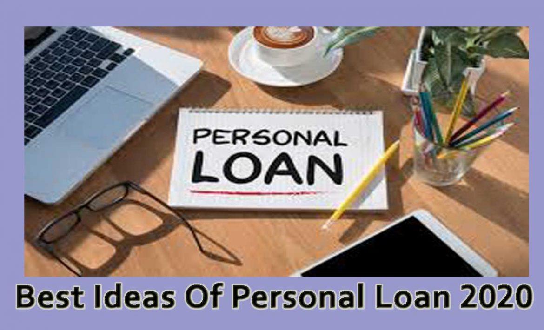 Best Ideas Of Personal Loan 2020